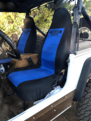 Totally Covers Jeep Wrangler TJ Seat Covers