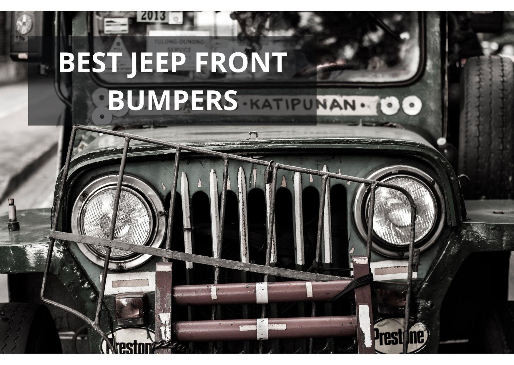 best jeep front bumper