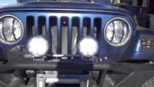 Jeep Light Bar installation diy