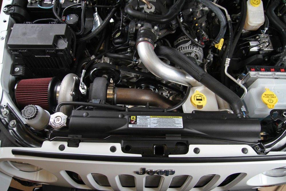 Jeep Wrangler JK engine