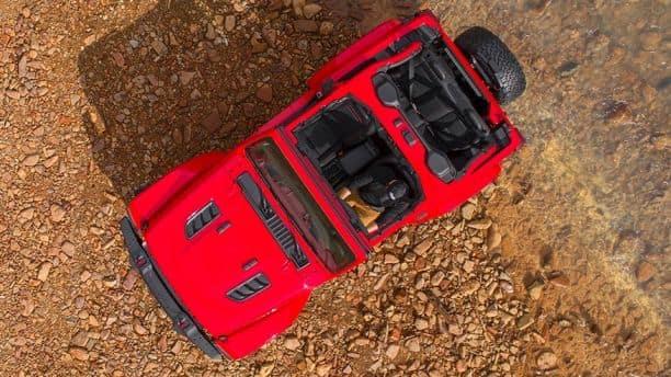 Jeep Wrangler JL tops