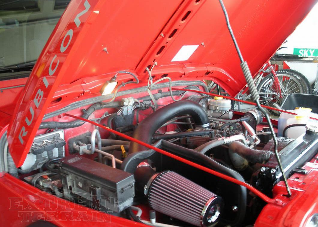 Jeep Wrangler TJ engine