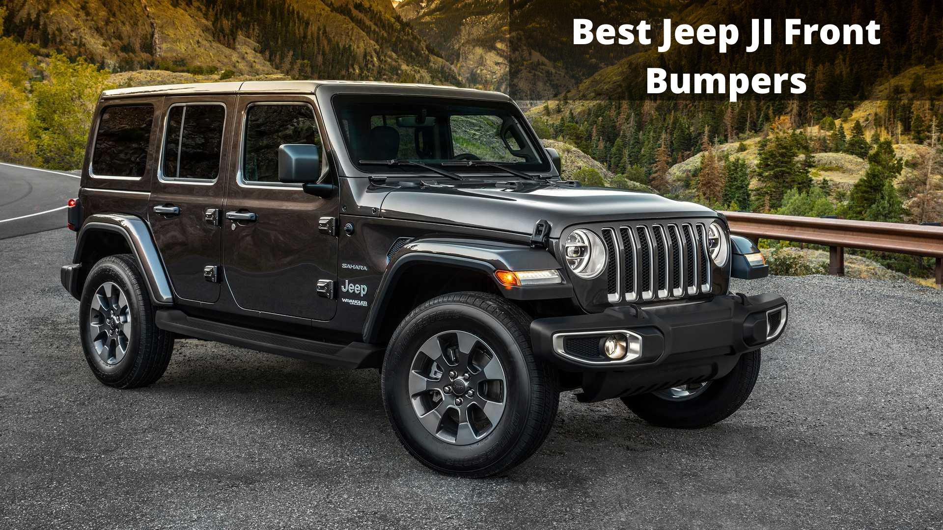 best jeep jl front bumper