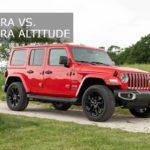 Jeep Wrangler Sahara Vs Sahara Altitude【Detailed Guide】